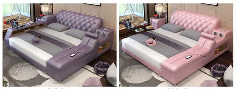 Продвинутая кровать с массажным креслом