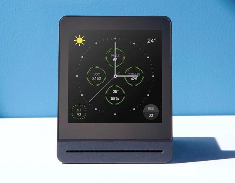 Настольный прибор для контроля качества воздуха от Xiaomi