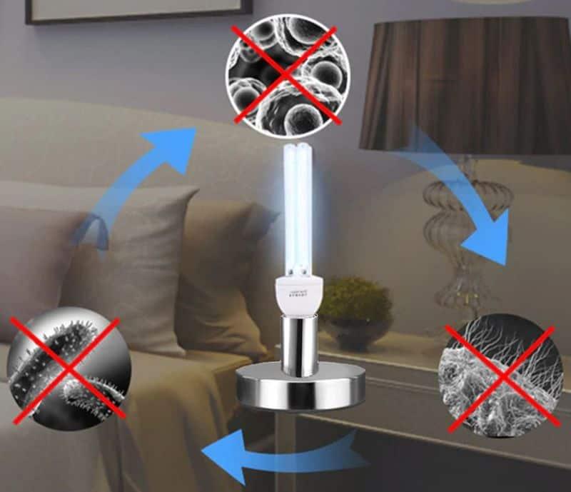 Кварцевая лампа для защиты от бактерий