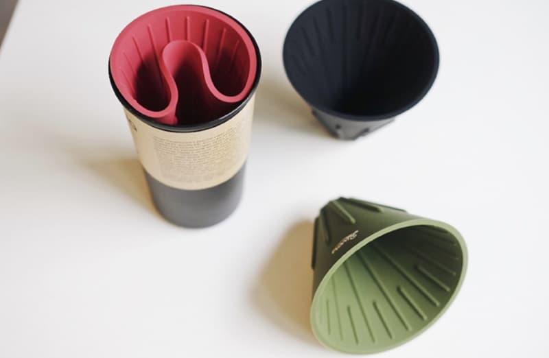 Реверсивная воронка для фильтрации кофе