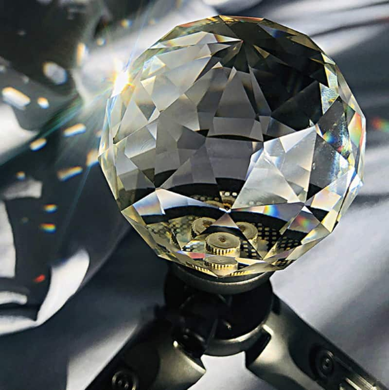Хрустальный шар для творческой фотосъёмки