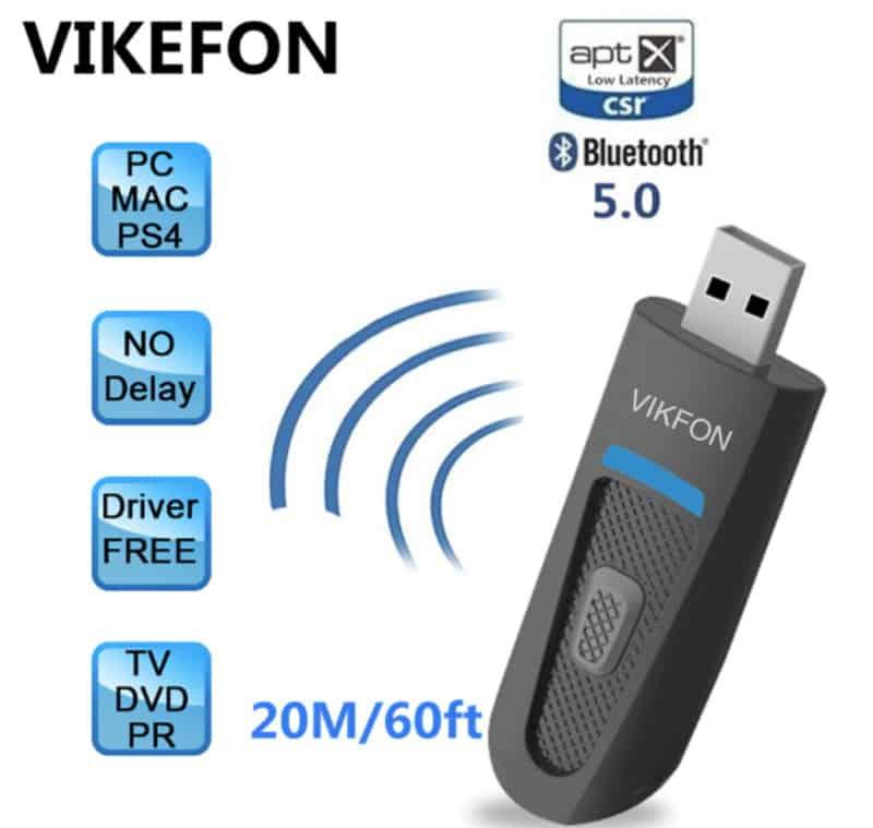 BT-адаптер с аналоговым входом Vikfon