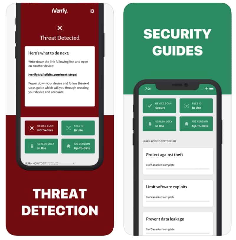 iVerify - приложение для контроля безопасности iPhone