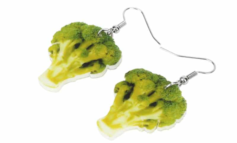 Серёжки-брокколи