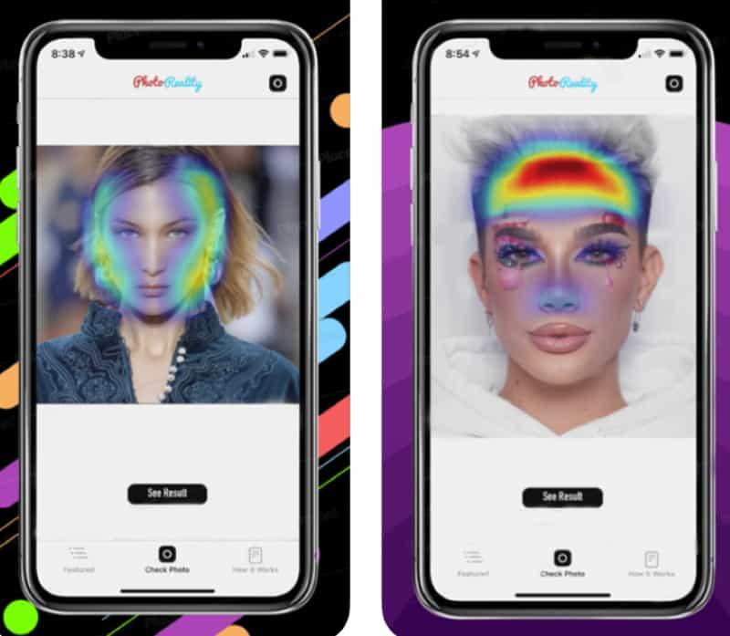 Photo Reality - приложение для выявления следов фотошопа