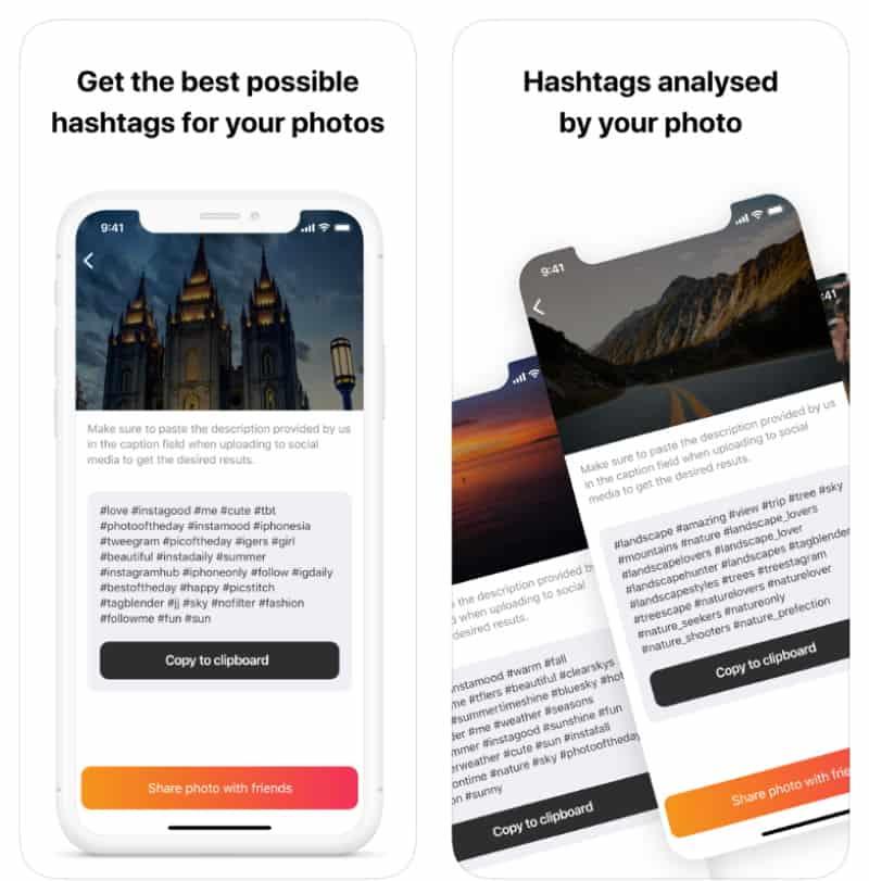 Smashtags - приложение для автоматической генерации хэштегов
