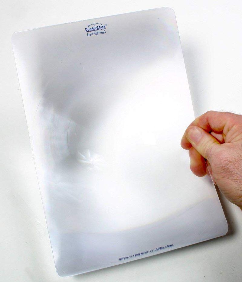 Большое увеличительное стекло для чтения Mighty Bright