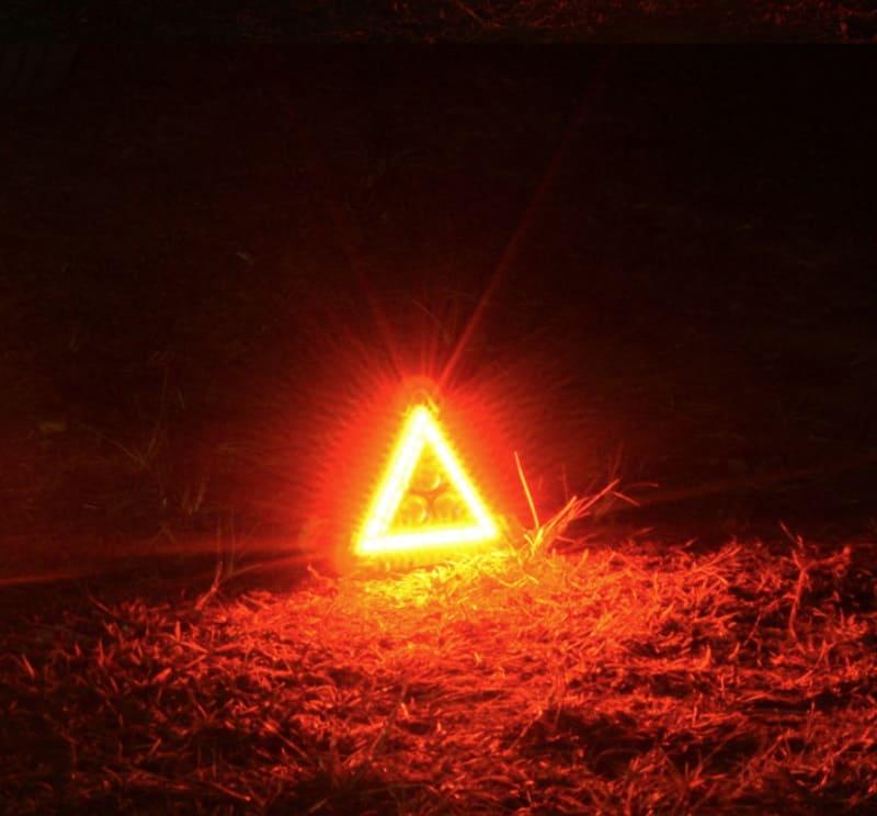 Знак аварийной остановки на светодиодах