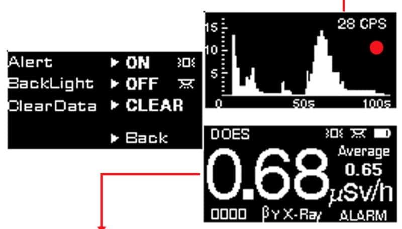 Портативный дозиметр KB6011