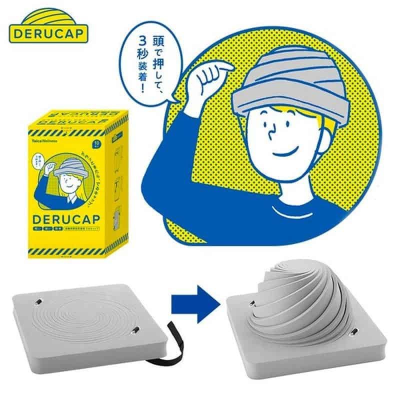 Складной шлем для чрезвычайных ситуаций Derucap