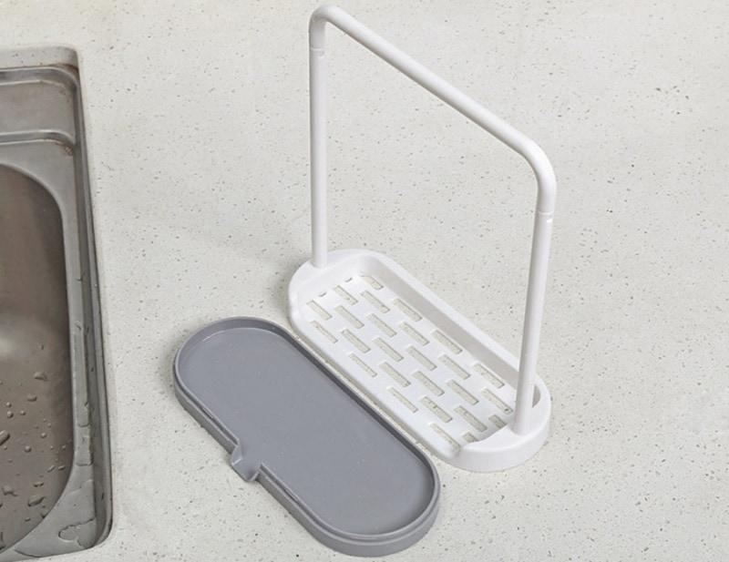 Комбинированный держатель для губки и тряпки