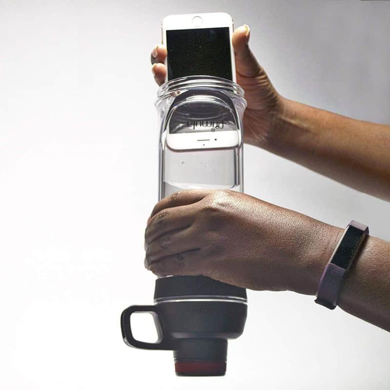 Бутылка с отсеком для телефона Primula