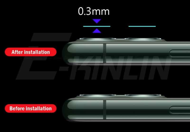 Защитная плёнка для объективов iPhone