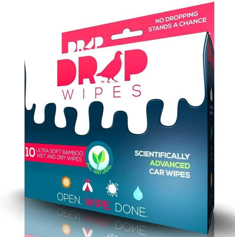 Салфетки для удаления птичьего помёта Drop Wipes