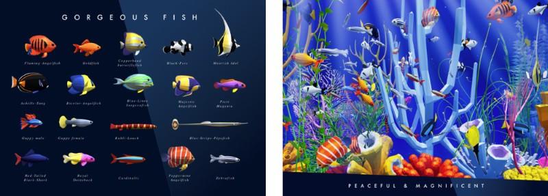 Tayasui Aquarium - приложение-аквариум