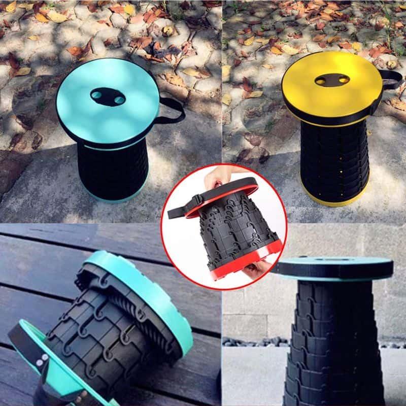 Раскладной телескопический стульчик
