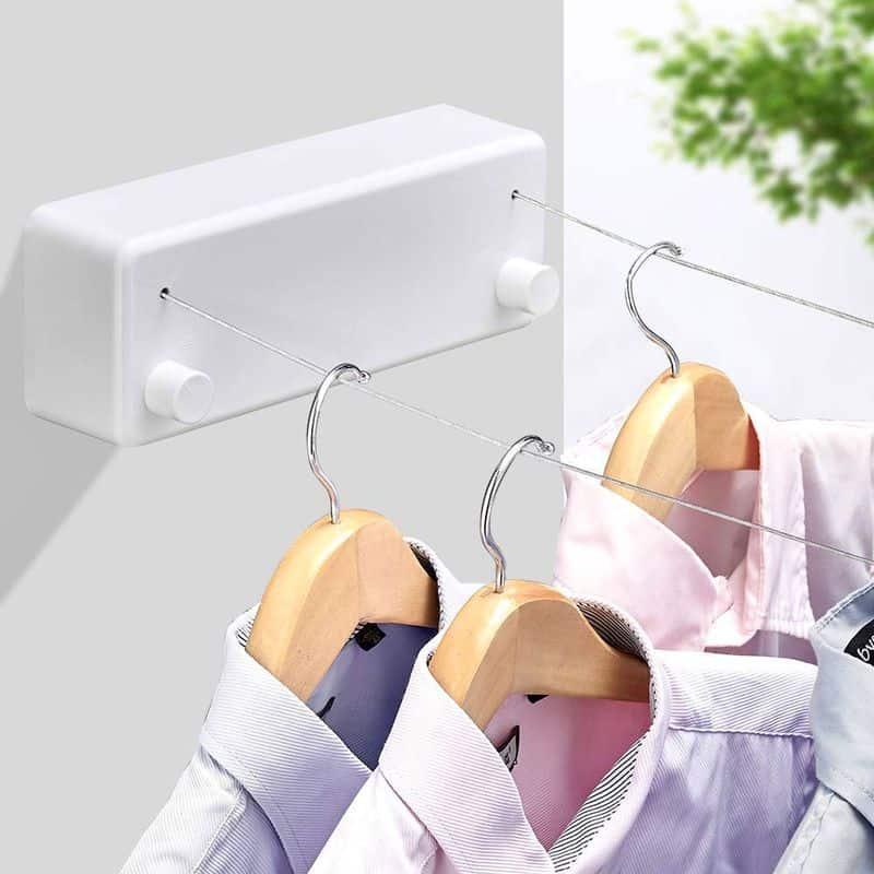 Двойной тросик для сушки одежды
