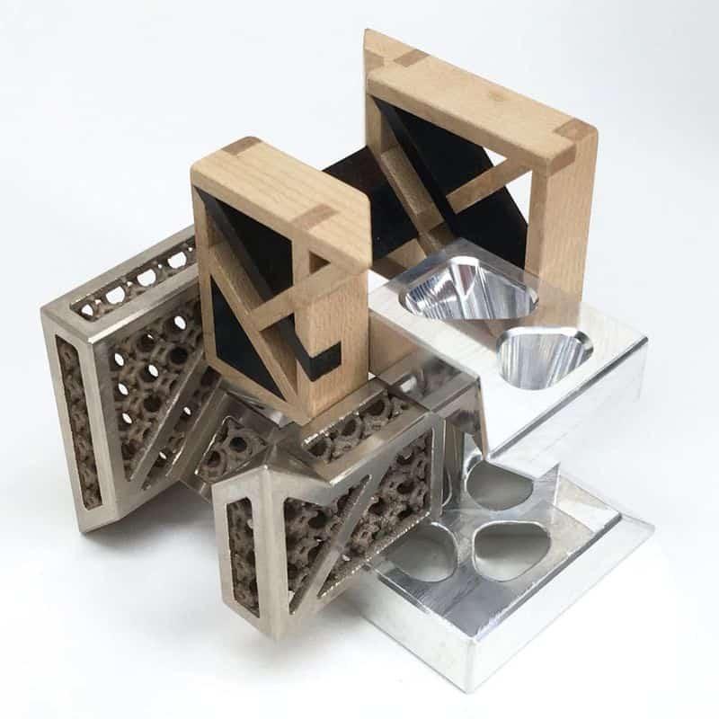 Кубический пазл из 16 элементов