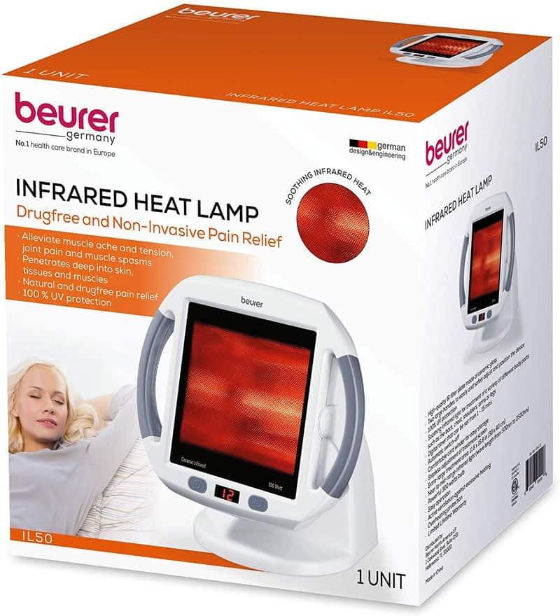 Инфракрасная лампа для избавления от болей Beurer IL50