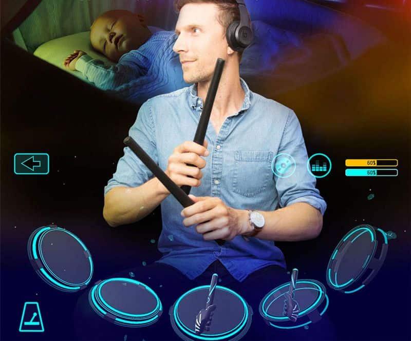 Электронные палочки для барабанов PocketDrum