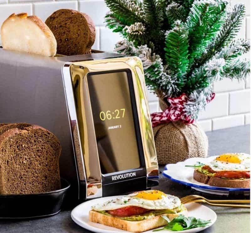 Умный тостер с цветным экраном Revolution