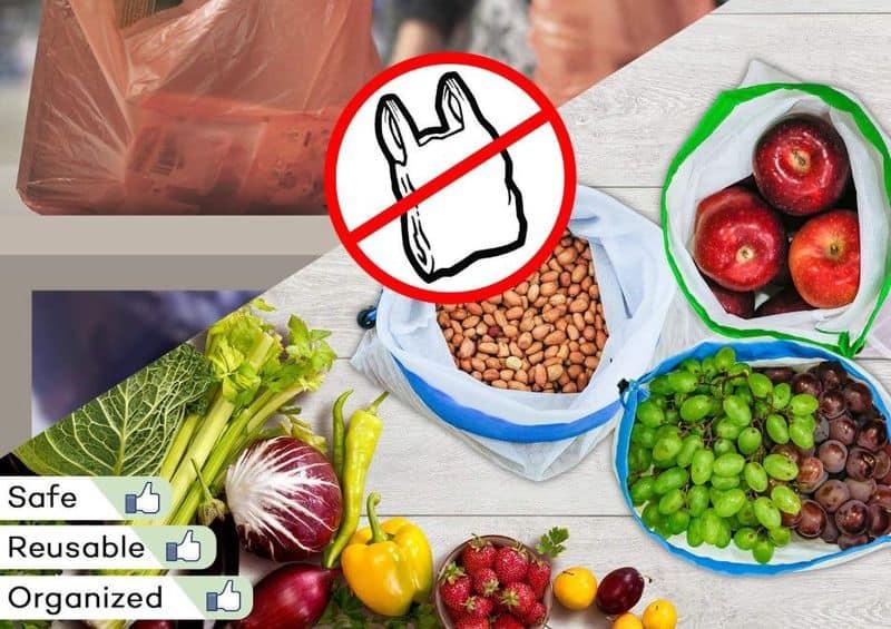Многоразовые пакеты для овощей