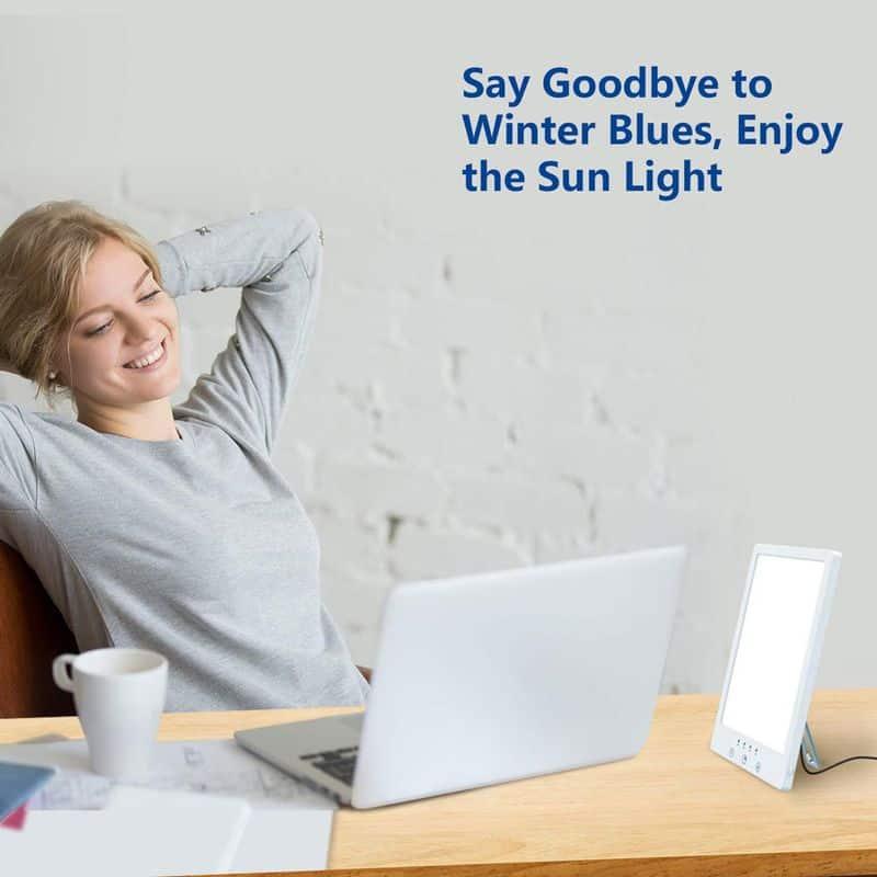 Плоская лампа для светотерапии