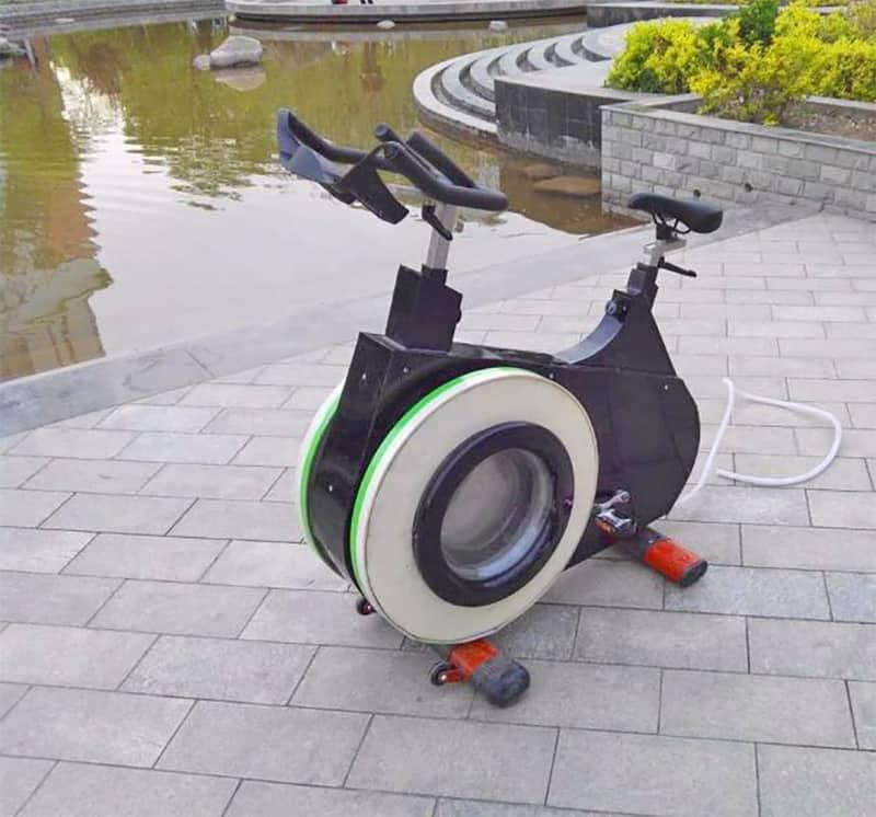 Стиральная машина с педалями BWM
