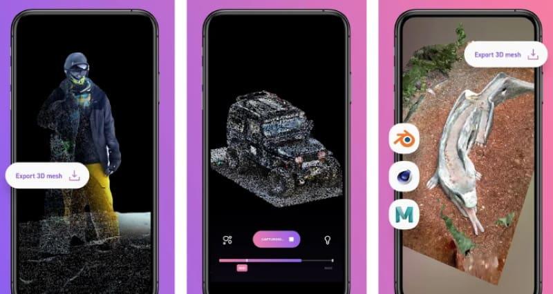 Display.land — приложение для 3D-сканирования