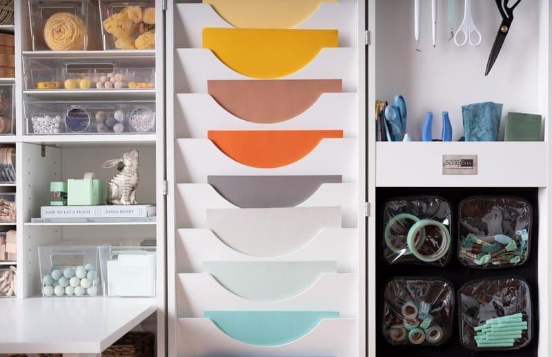 Раскладной шкаф для хобби