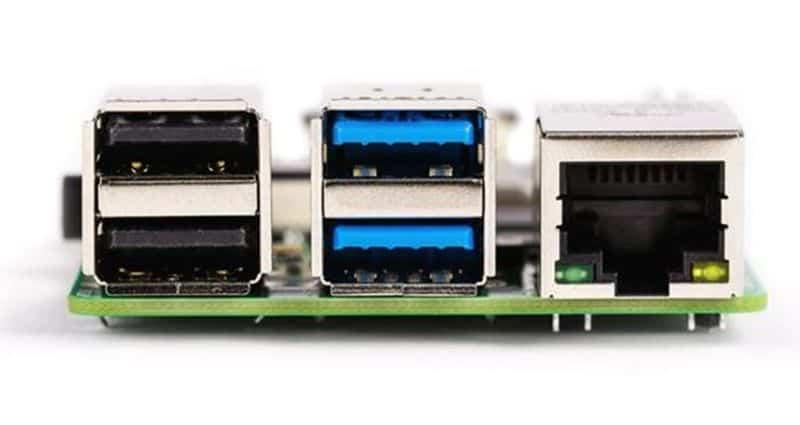 Одноплатный компьютер Raspberry Pi 4B