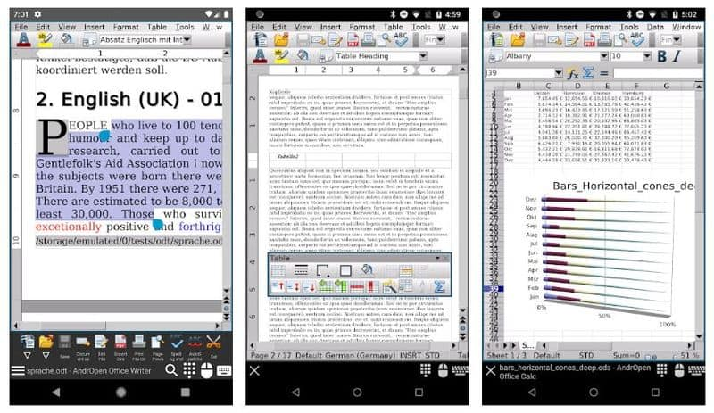AndrOpen Office — мобильный порт OpenOffice