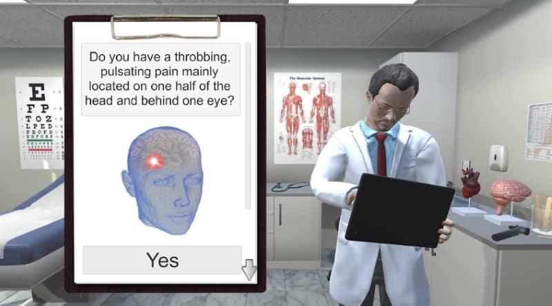 Диагностика и лечение - приложение для виртуальной диагностики