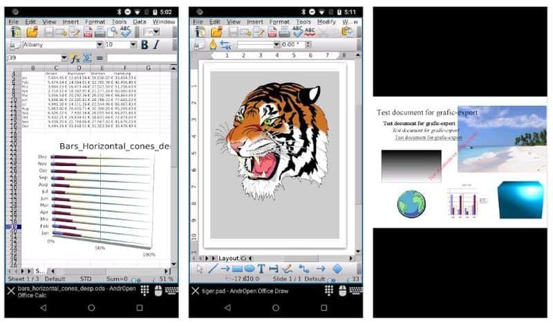 AndrOpen Office - мобильный порт OpenOffice