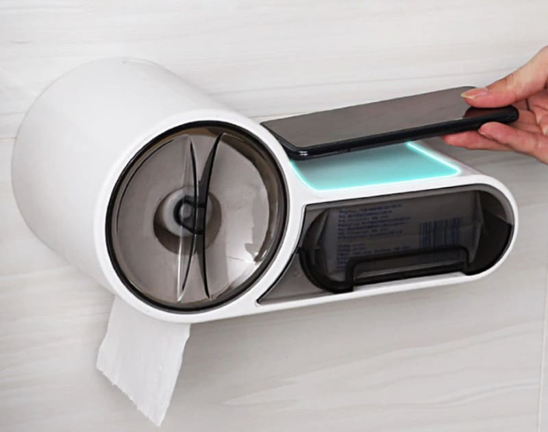 Продвинутый диспенсер для туалетной бумаги