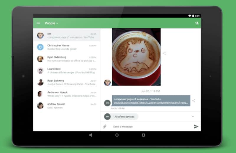Pushbullet - приложение для работы с уведомлениями на ПК