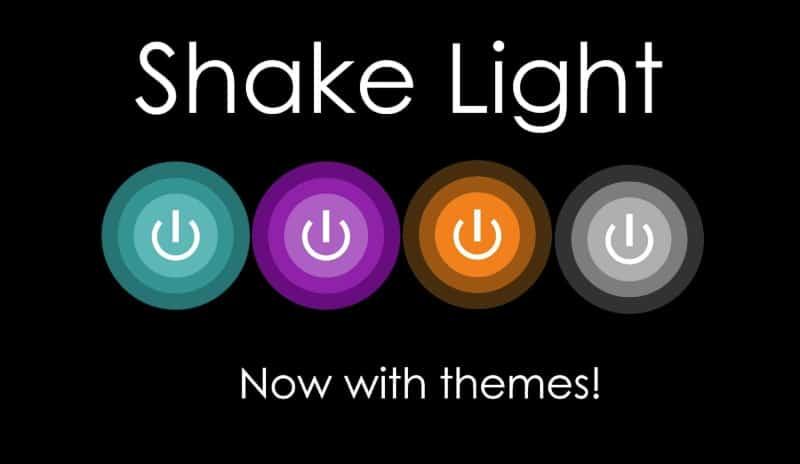 Shake Light - приложение для включения телефона потряхиванием