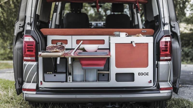 Кухня в багажнике от Egoe Nest
