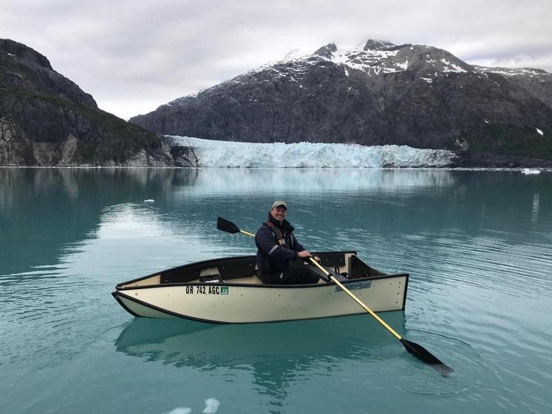 Полностью складываемая лодка Porta-Bote