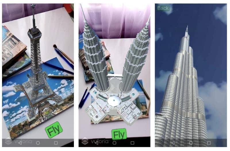 Skyscrapers AR — небоскрёбы в дополненной реальности