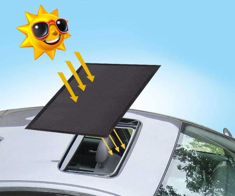 Солнцезащитная шторка на автомобильный люк