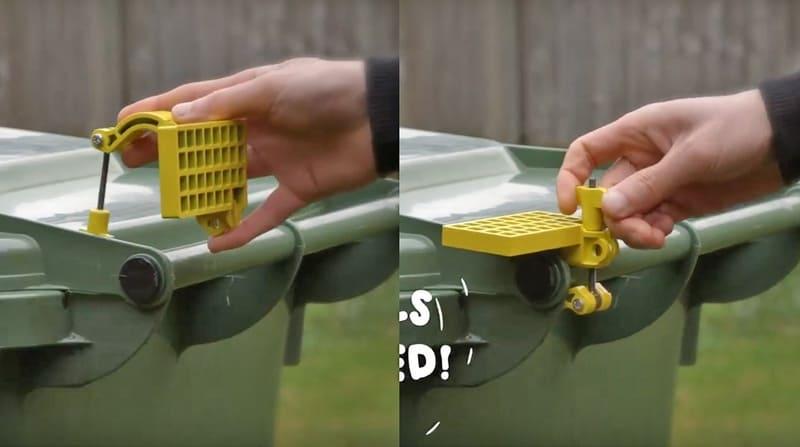 Блокиратор для крышки мусорного бака Lid Assist