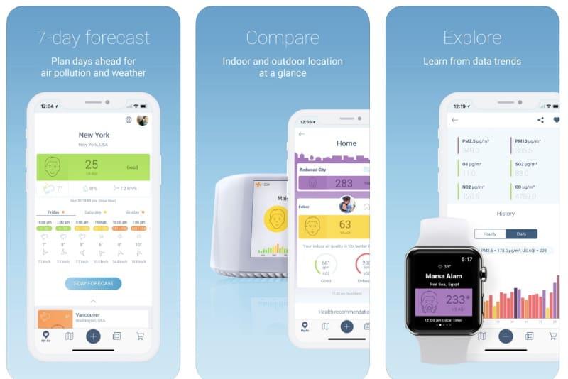Air Quality — приложение для мониторинга качества воздуха