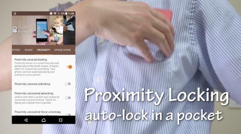 Touch Protector - приложение для блокировки случайных нажатий на экран
