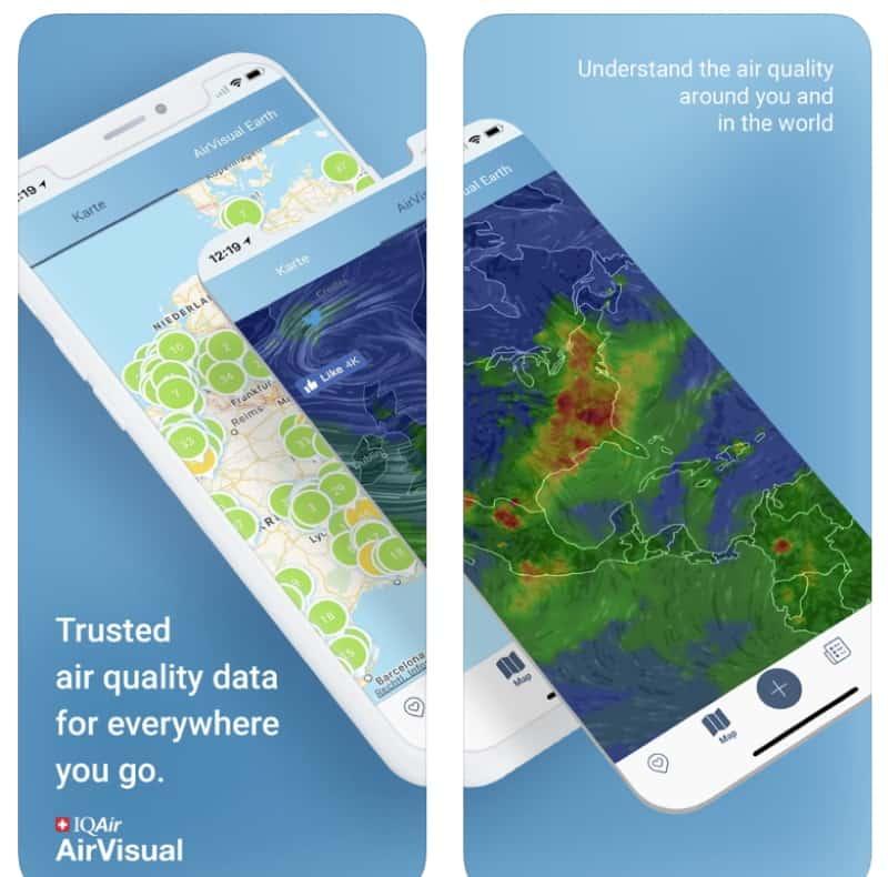 Air Quality - приложение для мониторинга качества воздуха