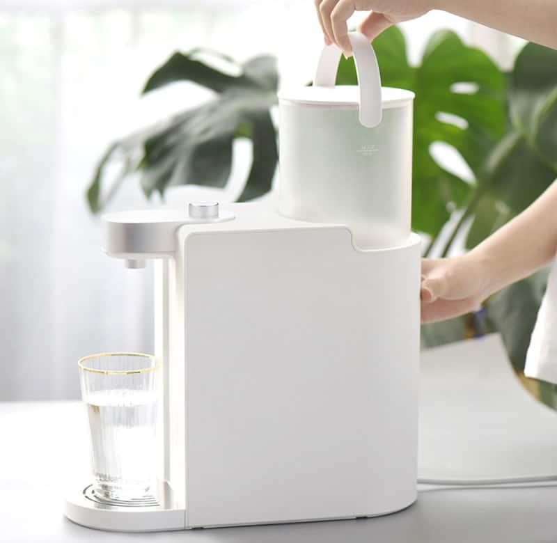 Портативный диспенсер горячей воды