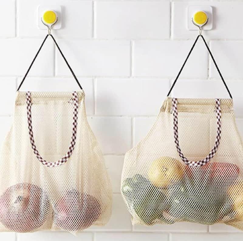 Сетчатая сумка для овощей