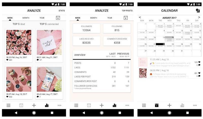 PLANOLY - приложение для отложенных публикаций в Instagram