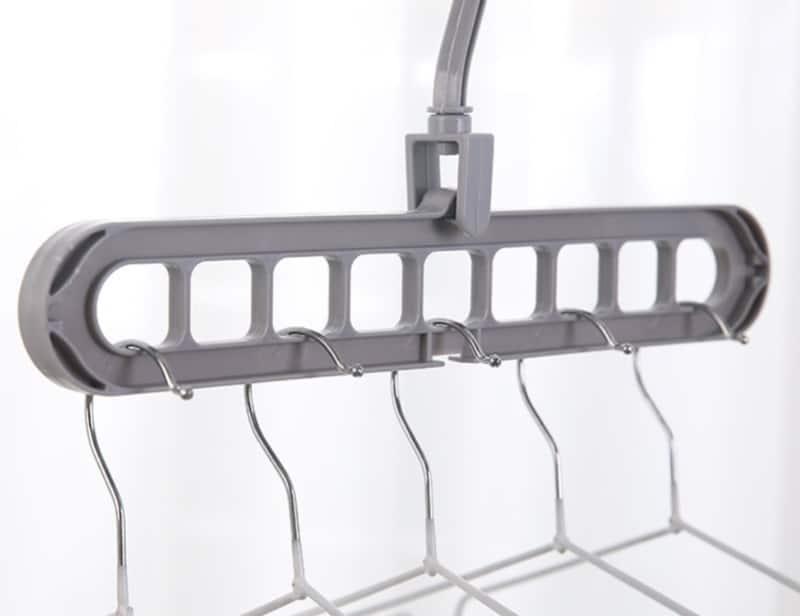 Вешалка-трансформер с 9 отверстиями
