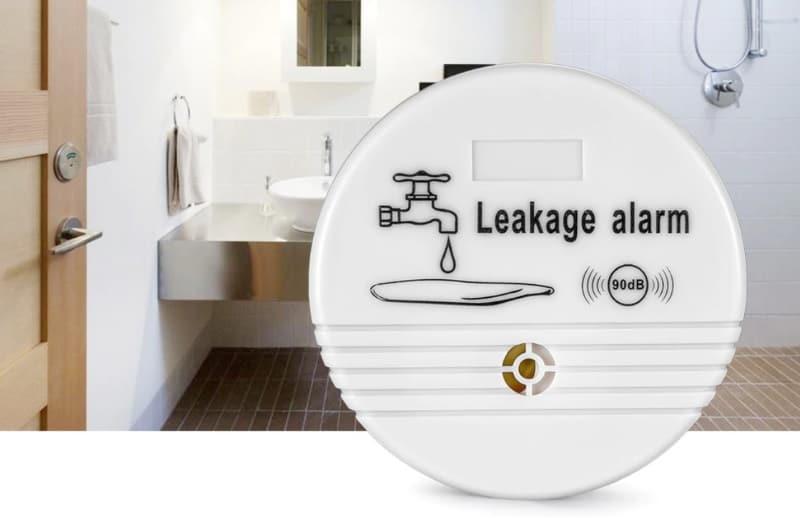 Беспроводной датчик утечек воды со звуковой сиреной